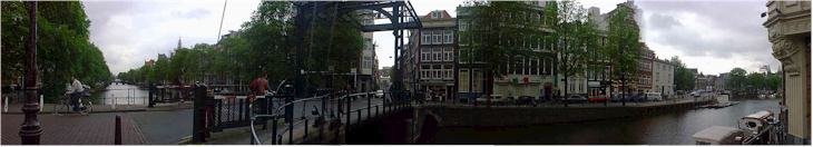 Along the canals of Amsterdam, Holland