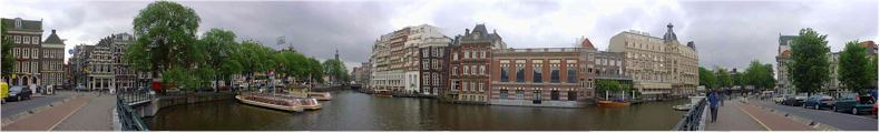360 View of the Amsterdam Canals