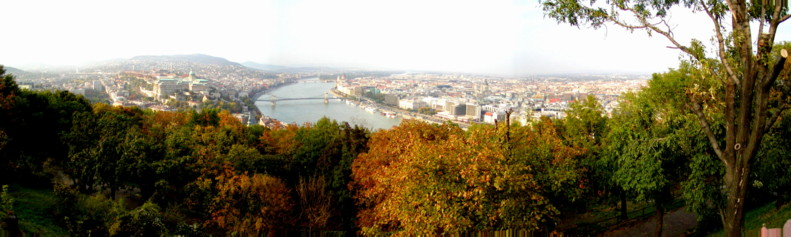 View from the Summit of Gellert, Budapest