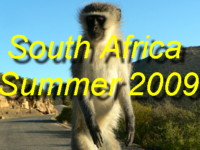 Click here for photos of South Africa from January and February 2009 during our 3000mile trip from Cape Town to Western, Northern and Eastern Cape Regions