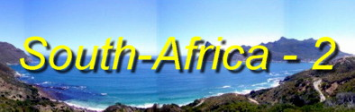 Panoramas from Cape Town along the Garden Route to Knysna, and then Prince Albert, Montagu and Tsitsikamma