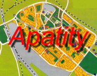 Click here for an excellent map of Apatity City in the Heart of Russian Lapland and the Kola Peninsula !