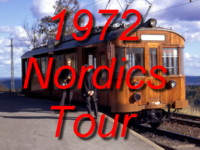 Click here for photo galleries of a trip to Stockholm, Gothenburg, Oslo, Aalborg and Copenhagen back in September 1972!