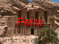 Come to that ancient Nabeatan town of Petra that was carved out of rock in the Jordanian Mountains between Aqaba and Amman! - June 1996 - Photos taken with original MAC Digital Camera
