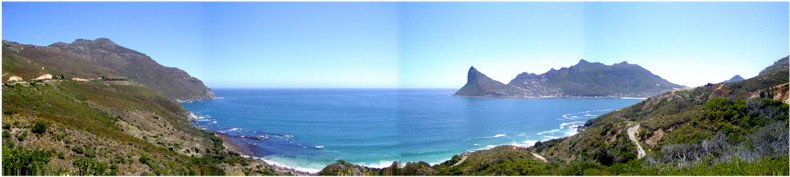 View of Hout Bay from the Picnic Spot on the Chapman's Peak Drive